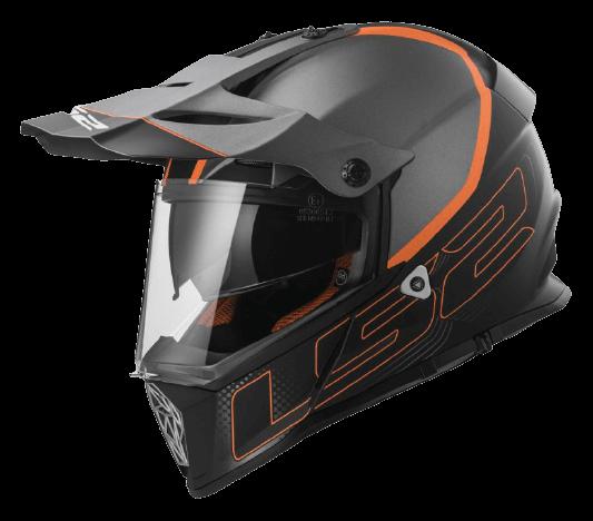 Dual Sport Helmet
